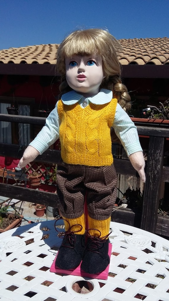 "18"" doll: knickerbocker suit"