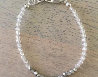 Sunny silver bracelet