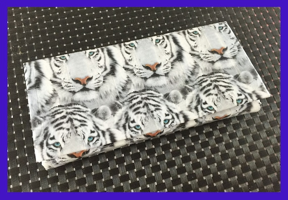 Cash Envelope System: Wallet & Envelopes - White Tiger
