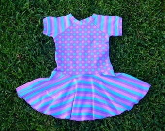 Purple Twirl Dress SIze 2T