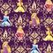 Disney Princess Scroll Fabric From Springs Creative
