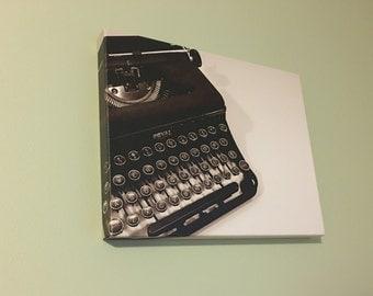 Royal Typewriter Canvas Print 11 x 14