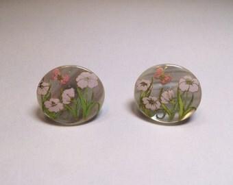 Vintage Floral Nature Earrings