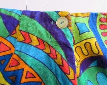 50% OFF Vintage 1970s  Psychadelic Bellbottom Pants