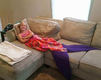 The Mermaid Tale Blanket