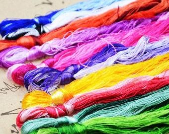 30 x Silk Embroidery Floss/Threads - Suzhou Embroidery Thread