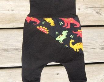 Dinosaur Harem Joggers- 0-3 months