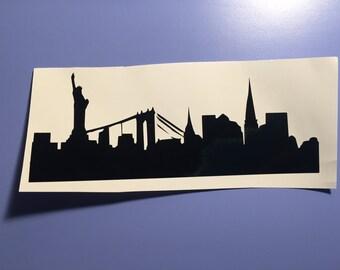 City Sky Line, NYC, Denver, Custom