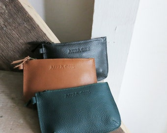 PARI Leather Zip Purse