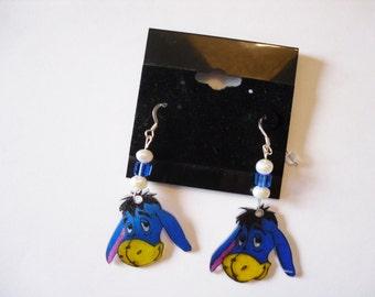 Eeyore earring / earrings Eeyore