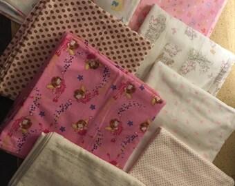 Baby Flannel Receiving Blankets