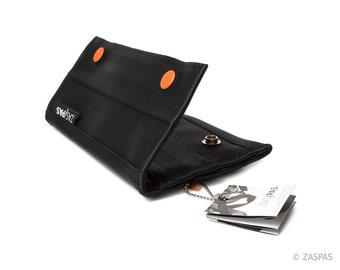 Recycled seatbelts wallet - ORG 61-14