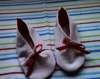 Kimono Baby Booties (Apprx. 3-6 Months)