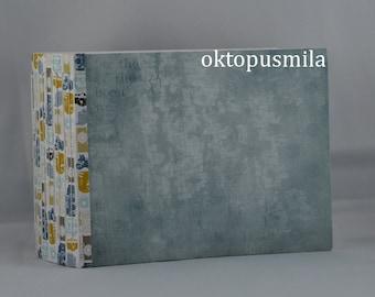 Click Clack! Handmade journal. notebook