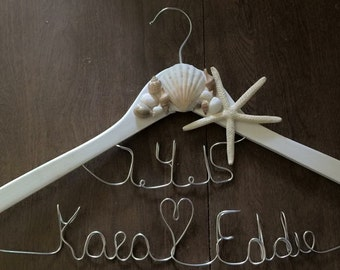 Beach Wedding Gown Hanger