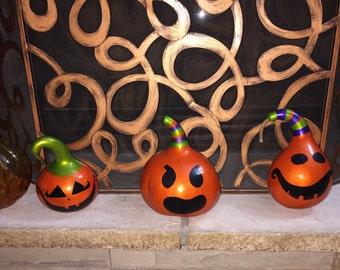 Fun Fall / Halloween Gourd Pumpkin Decoration