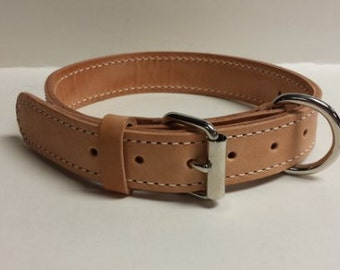 Leather Dog Collar, K-9 Accessory
