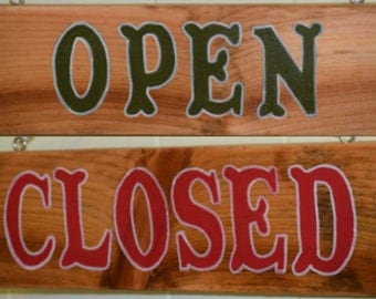 Open - Closed Sign - business - shop