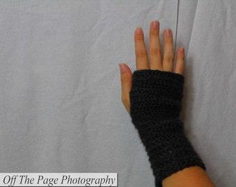 Short Fingerless Gloves That Give Back