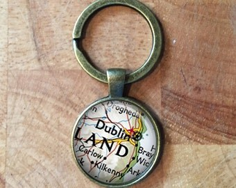 Custom map keychain etsy personalised maps world maps keyring personalized maps wedding gift anniversary gift gumiabroncs Image collections