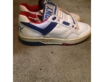 Vintage 80's Pony All Court shoes Sz mens 7 1988 hip hop Rap M-50