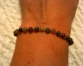 delicate multistone bracelet