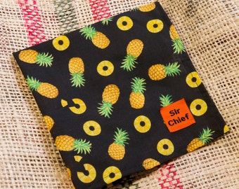 Pineapples - Handkerchief / Pocket Square