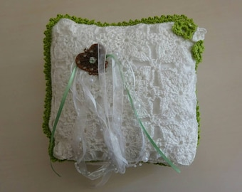 Ring pillows, handmade