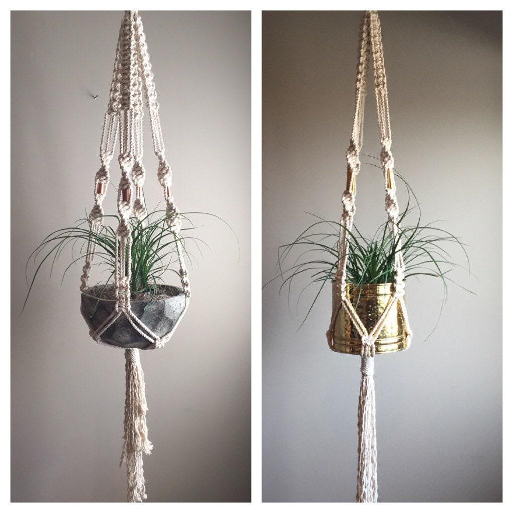 60 large macram plant hanger elegant for Decoration hangers
