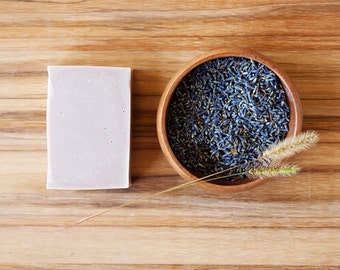 OUT OF STOCK--Lavender + Oats | Natural Soap, Handmade, Vegan, Cold Process