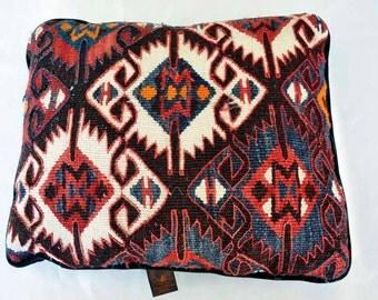 Kilim woven pillow