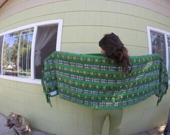 Mayan Rebozo-Shawl-Baby Carrier-Home Decor-Woven Guatemalan Textile