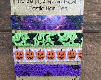 Halloween Elastic Hair Tie Set