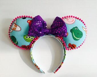 Toy story ears, minnie ears, mouse ears