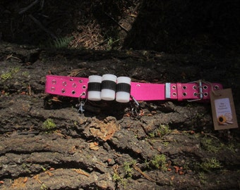 Tactical Belt for Utility // Hiking // Camping // Scouts // Nature // Women // Girls // Pink // Teens // Kids // Size XS, S, M