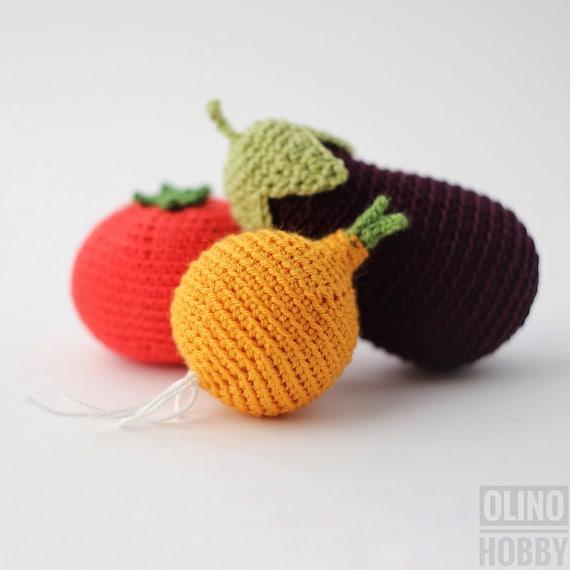 Amigurumi Vegetables : Onion crochet pattern pdf