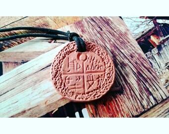 Ancient Tartaria tablet amulet