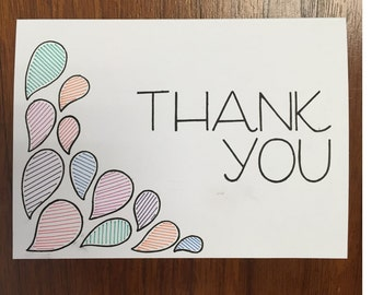 thank you card - customizable