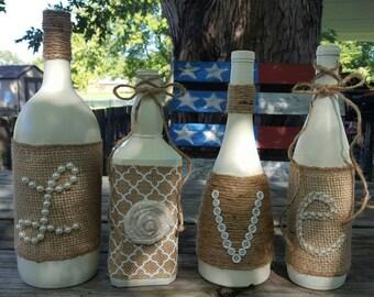 Love wine bottle set