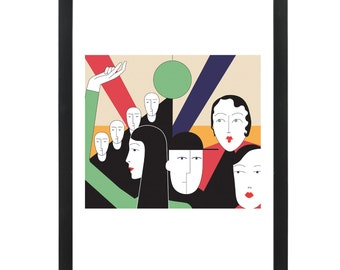 Party - Giclee Print