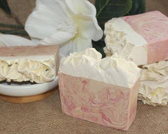 Rice Flower & Shea  Handmade Soap