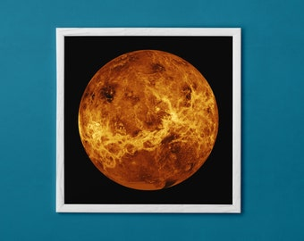 Venus Planet Poster - High Resolution, Wall Art Print