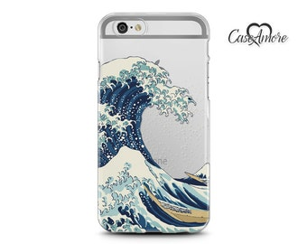 iPhone 7 case, Clear iPhone 7 Plus case, iPhone 6 case, iPhone 6s case, iPhone 6 Clear case, Rubber case, Samsung Galaxy case, Japanese Wave