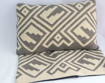 Camp Blanket Pillow Cover