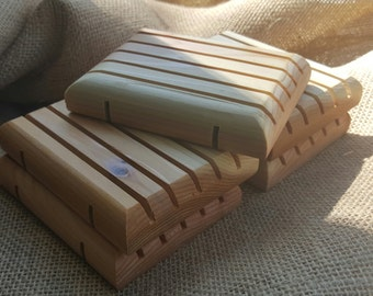Cedar Soap Dish- BULK 100