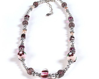 Plum Pudding Necklace