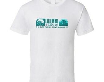 Vintage Surf T-shirt California 1 Through 10 Film 1968 Vsn 2