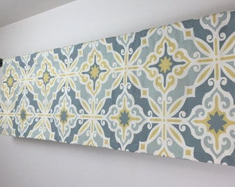 SALE! -  Kitchen Valance - Kitchen Valance - 50 x 16 Valance - Curtains - Window Valance - Window Treatment - Window Curtain - Valance