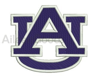 Auburn Tigers Embroidery  design 9 Size  INSTANT download machine embroidery