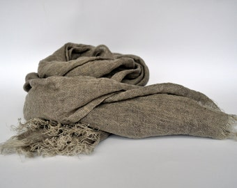 Spring Scarf Men Women, Gift for Her Soft Scarf, Mens Scarves Gift for Him, Linen Scarf Mens Linen Scarf, Linen Scarf Womens Linen Scarf,